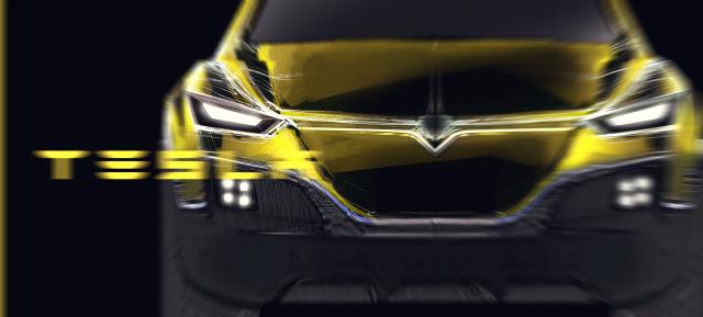 Диплом Tesla Electric SUV