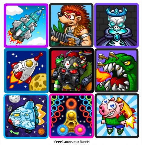 иконки игр