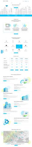 Верстка дизайна с PSD, натяжка и интеграция на Битрикс