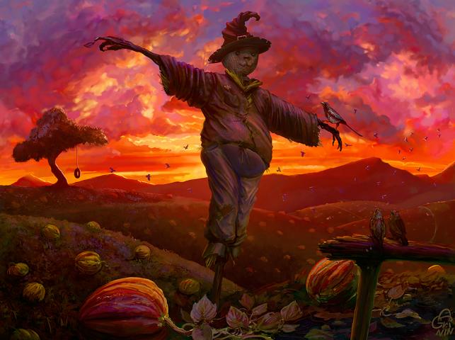"""""""Scarecrow"""", иллюстрация"""
