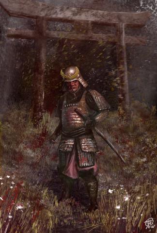 """""""R samurai"""", иллюстрации"""