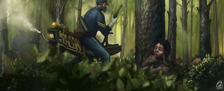 """Cavalry"", Иллюстрация"