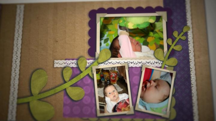 Фотоальбом дочки
