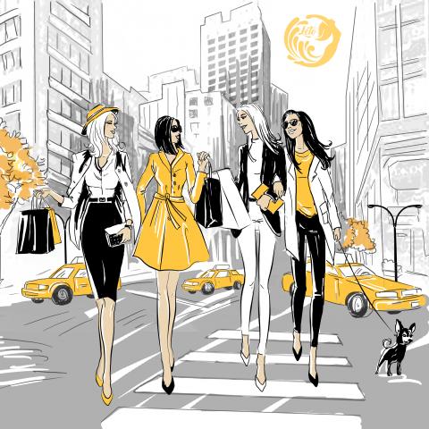 Fashion-иллюстрация