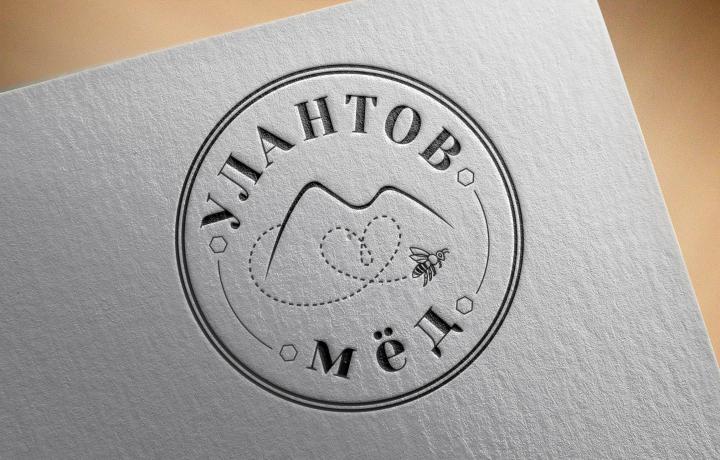 """Логотип для компании по поставке и продаже мёда """"Улантов мёд"""""""