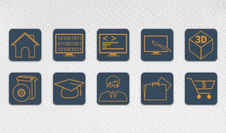 Комплект иконок для сайта