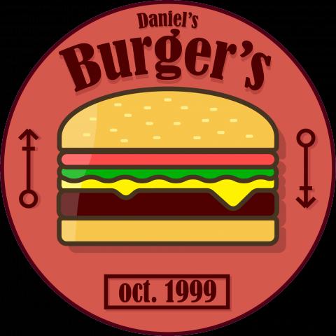 Логотип вымышленной бургерной
