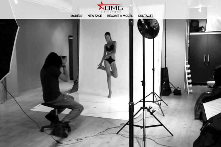 Сайт модельного агентства