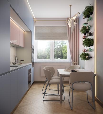 Дизайн-проект квартиры в Архангельске