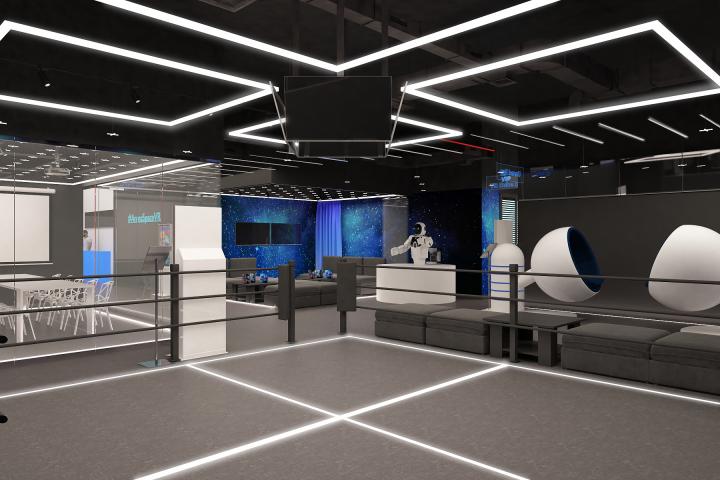 """Интерьер и реализация парка виртуальной реальности """"ARENA SPACE"""""""