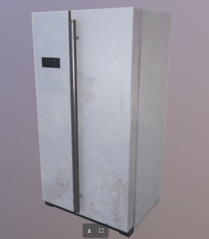 Low poly freezer