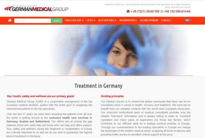 Переводы для медицингского центра в Германии