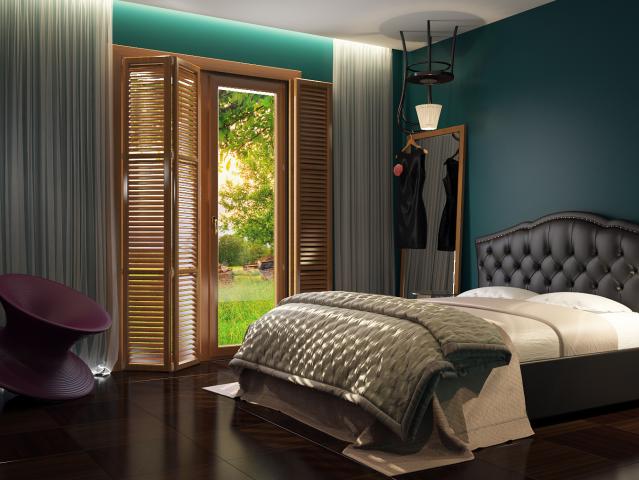 """Дизайн спальни """"Алиса в стране чудес"""""""