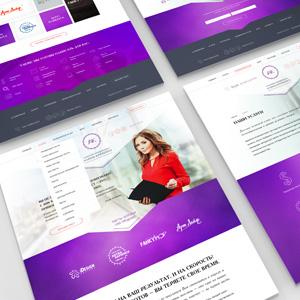 Дизайн сайта для копирайтера