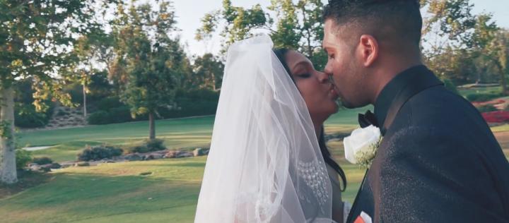 Монтаж свадебного видео американцев