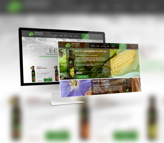 Сайт масел Ecotau
