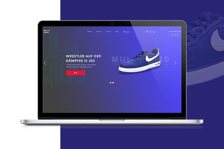 """Магазин обуви """"Mulix Derd"""""""