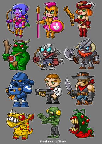 игровые персонажи