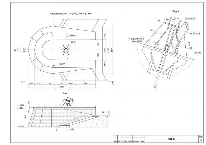 Техническое обследование здания, фундаменты