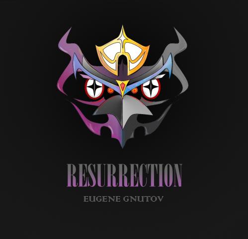 """Арт-обложка альбома """"Resurrection"""" (2018)"""