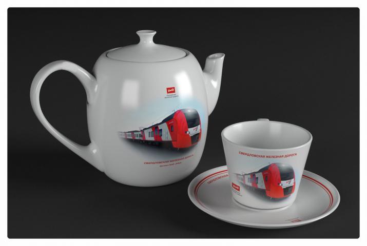 Чайный сервиз РЖД