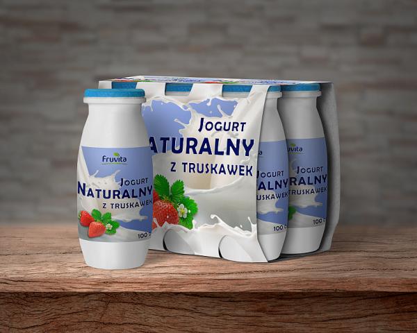 Дизайн упаковки для йогурта - Сербия