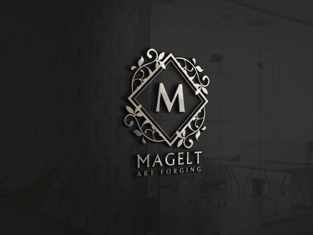 Логотип бренда художественной ковки Magelt