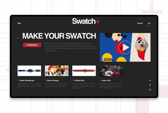 SWATCH official switzerland quality