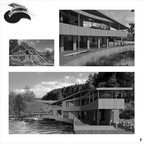 конкурс «Красивые деревянные дома» в номинации «Архпроект» «АРХП