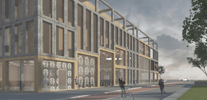 Проект здания зрелищного назначения - Мультиплекс