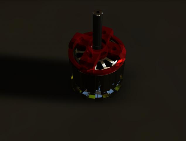 Вентильный двигатель 1,8 кВт