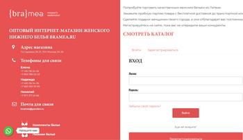Пакетная настройка - КОМАНДА Клиент: ИМ bramea.ru