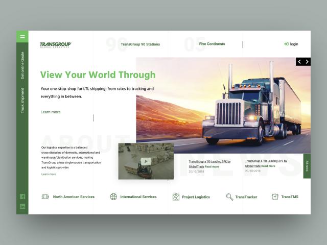 TransGroup - транспортная компания в США