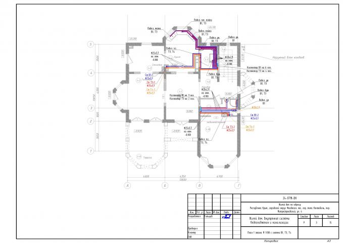 Индивидуальный жилой дом 2-х этажный с подвалом