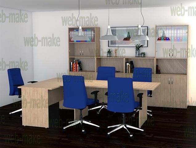 Визуализация мебели офисного помещения