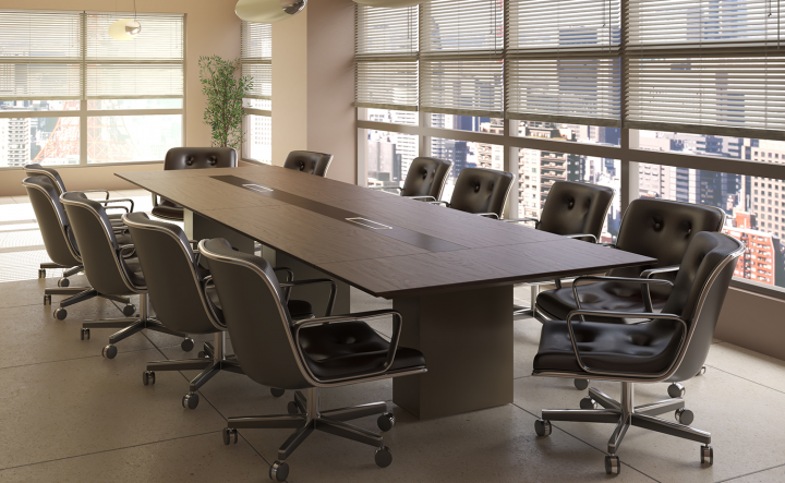 Визуализация стола в интерьере