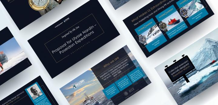 "КП компании ""Poseidon Expeditions"" для ""Ulysse Nardin"""