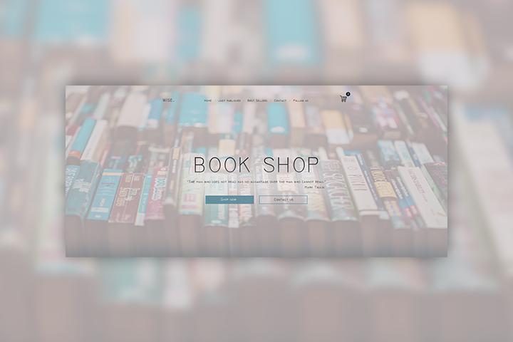 Book Shop - маленький книжный магазин