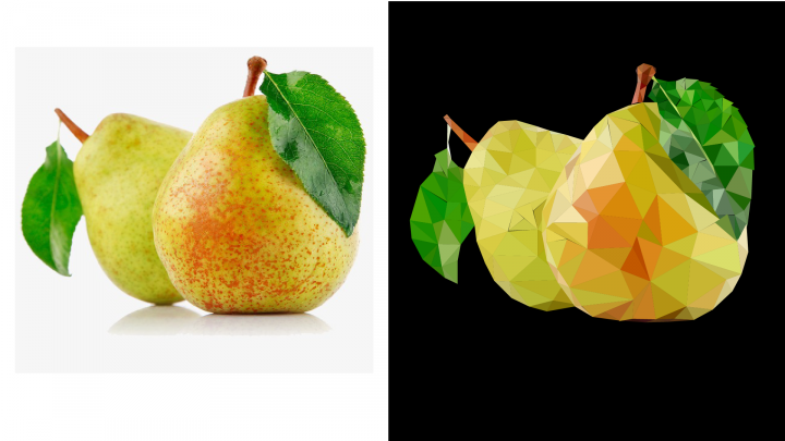 Fruits Low Poly