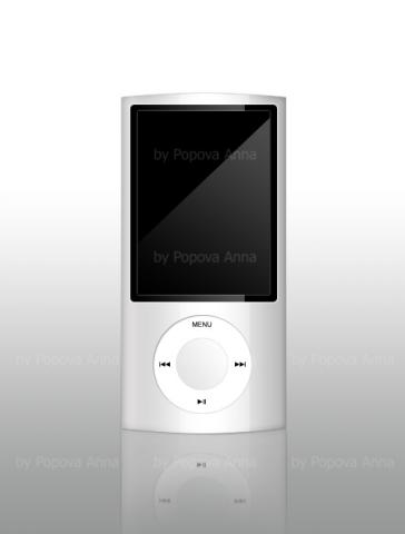Отрисовка в Ps (iPod)