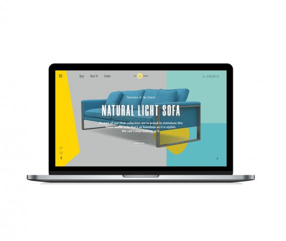 Natural Light sofa