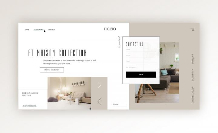 Компания по продаже мебели Dicibio