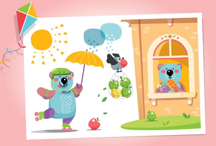 Разработка персонажа для торговой марки детских снеков