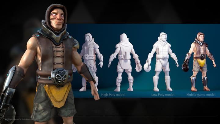Персонаж для мобильной игры