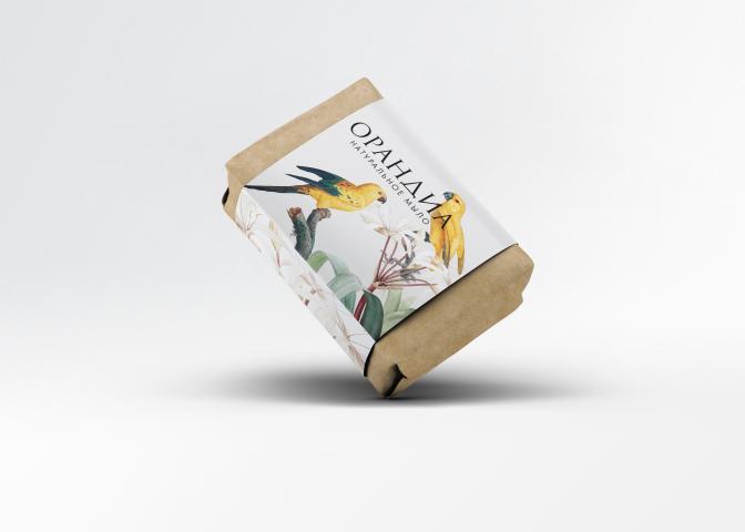 """Дизайн упаковки для серии натуральной косметики """"Орандиа"""""""