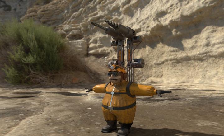 разработка персонажа для игры Es Fortis