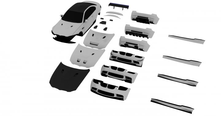 моделирование автомобиля для игры
