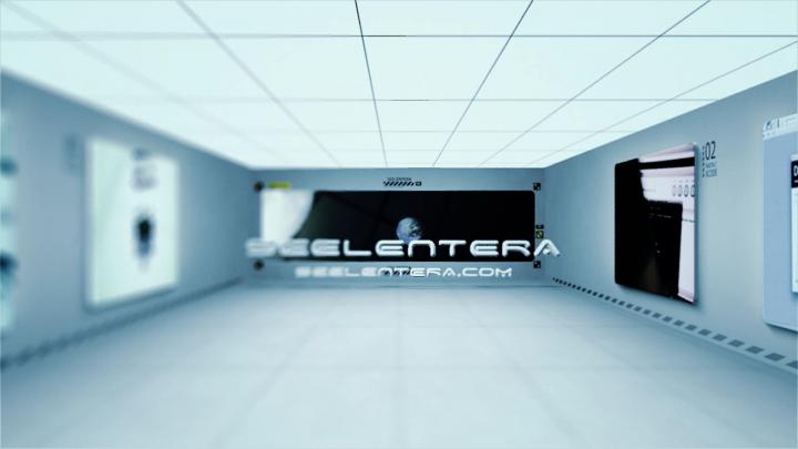3d видеоролик реклама Seelentera обучающий портал hitech дизайн