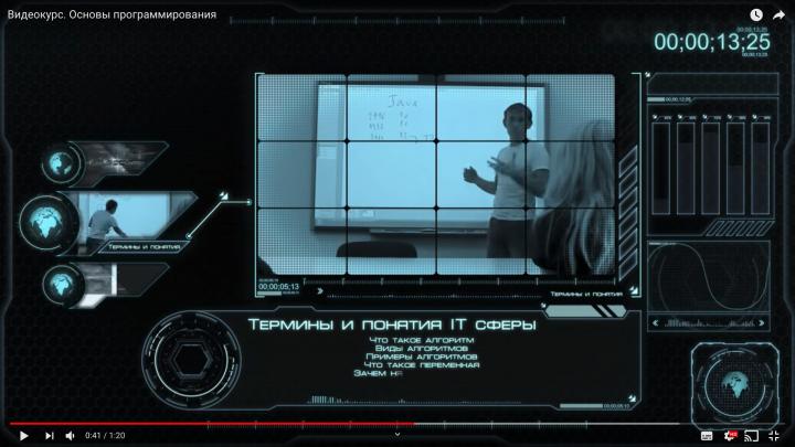 3d презентация видеоролик Seelentera future hitech дизайн