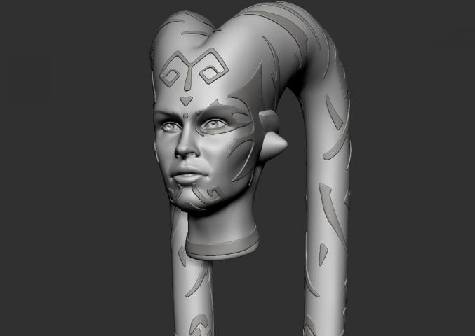 3D модель Дарт Талон для 3D печати